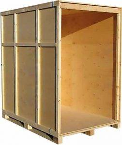 Warehouse storage crate