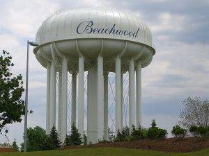 Beachwood Water Tower in Ohio