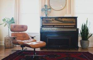 piano in apartment