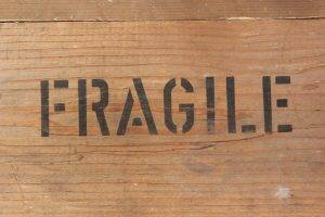 moving crate for fragile items