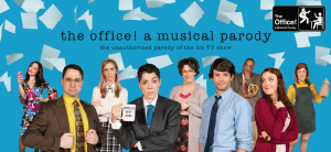 Group photos of the characters from The Office! A Musical Parody