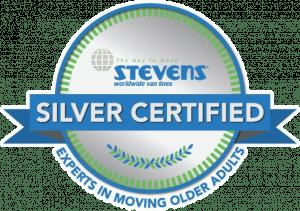 Stevens Silver Certified Badge